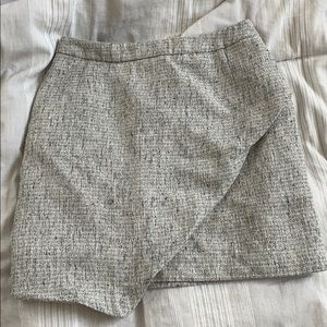 H&M shiny tweed mini